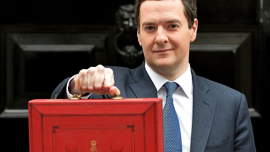 Chancellor of the Exchequer George Osborne has a rosier outlook thanks to the falling price of oil
