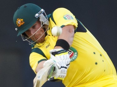 Aaron Finch is hoping to play a starring role on his home ground in Sunday's World Cup final