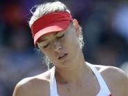 Maria Sharapova was stunned at the Miami Open