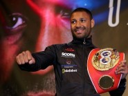 Kell Brook, pictured, has ruled out a fight with Amir Khan any time this year