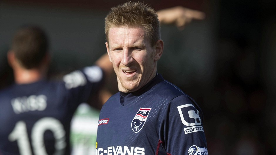 Michael Gardyne was on the scoresheet as Ross County picked up another valuable win against Kilmarnock last weekend