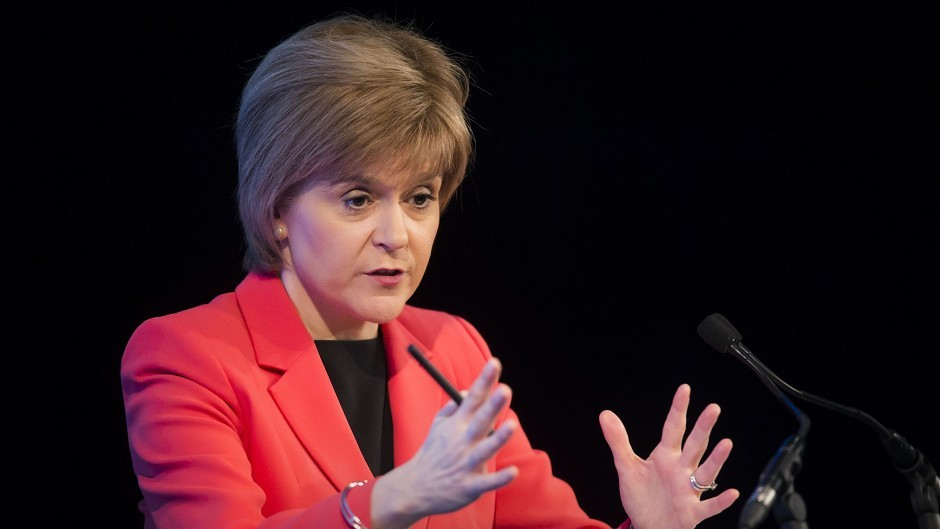 Nicola Sturgeon refused to confirm is SNP MPs will press for full fiscal autonomy for Scotland.