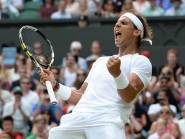 Rafael Nadal was crowned Wimbledon champion in 2008 and 2010