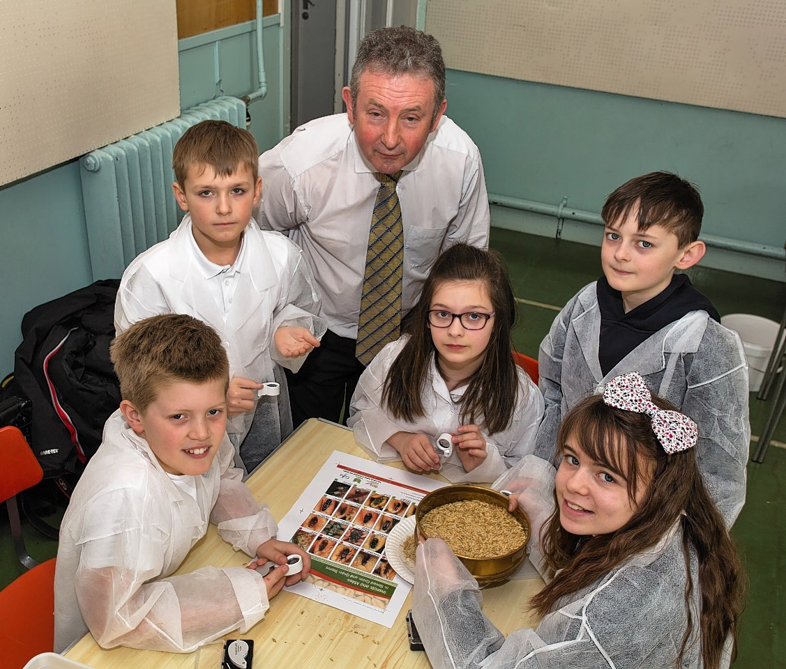 Portgordon pupils are now masters of malting
