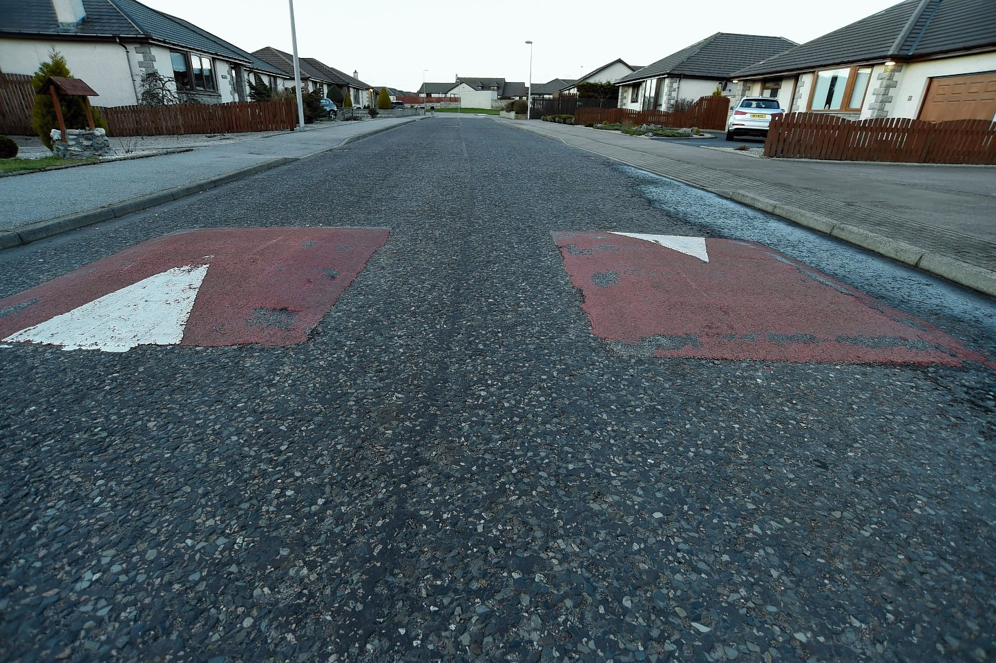 Robbie's Road in Fraserburgh