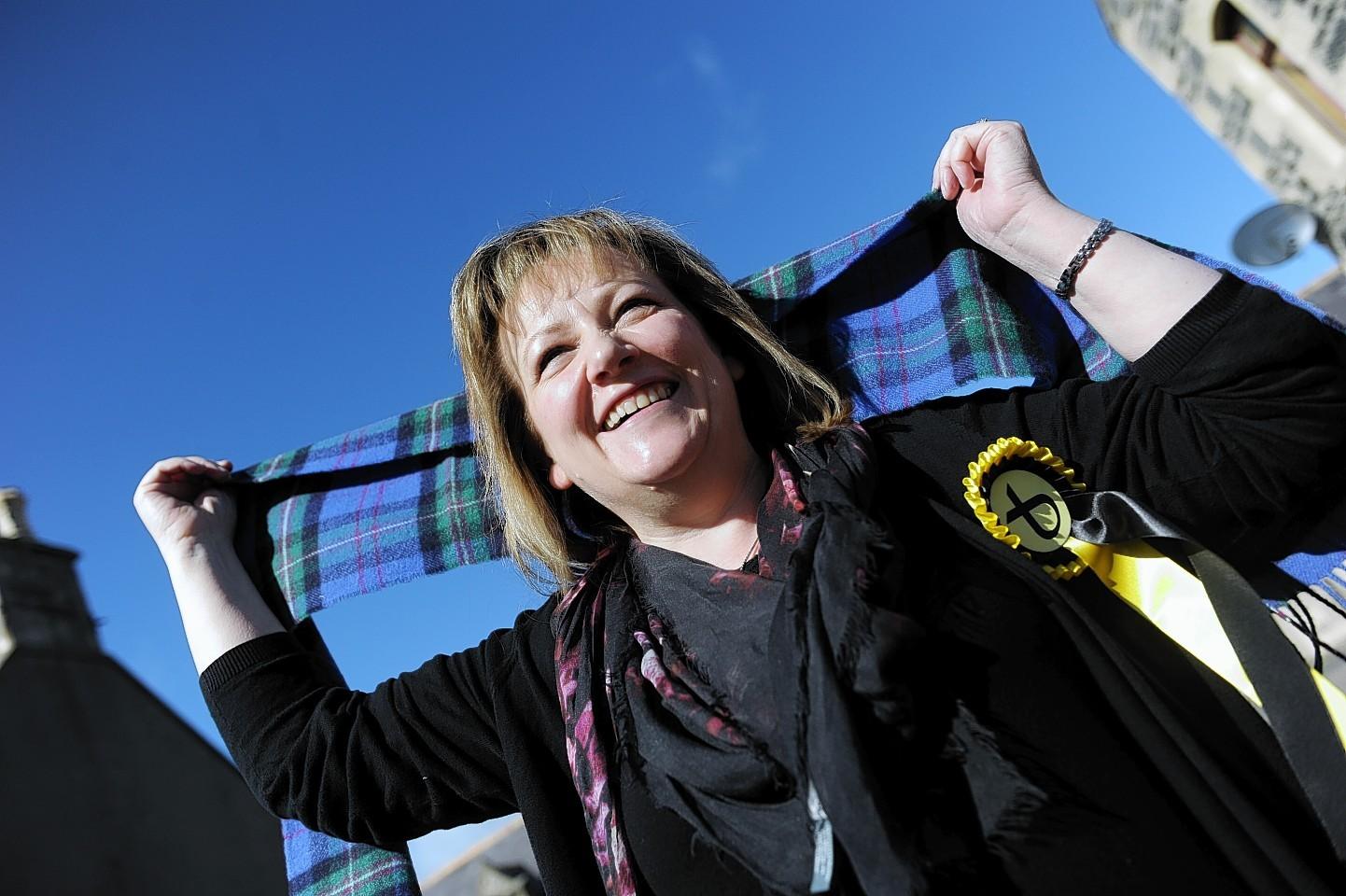 Sonya Warren won last month's Buckie by-election