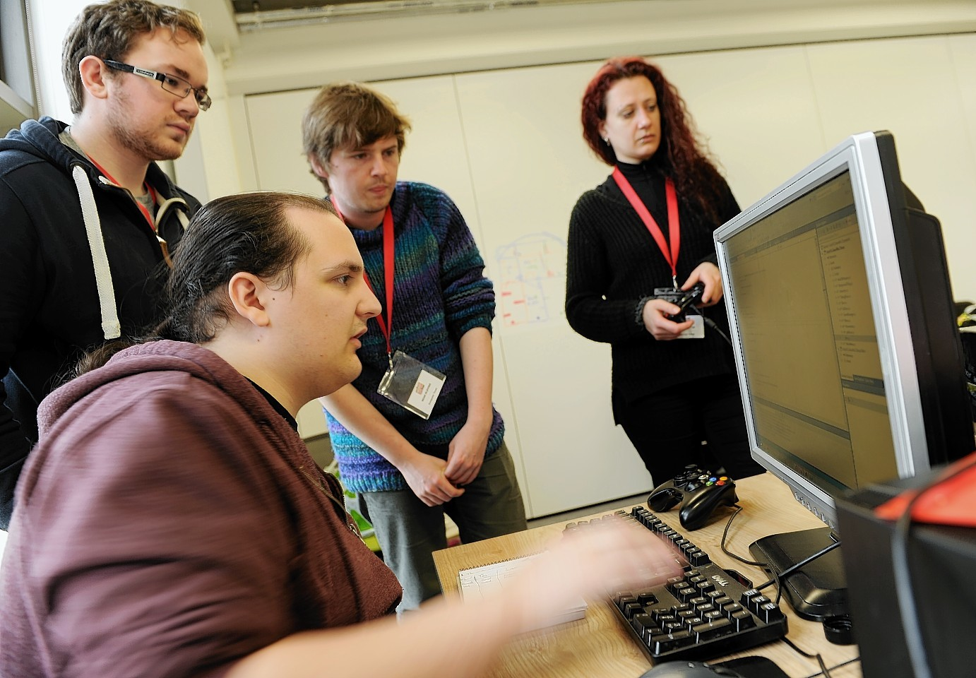 Budding computer game designers will have the chance to receive expert mentoring from Elgin-based Hunted Cow Studios should their idea win