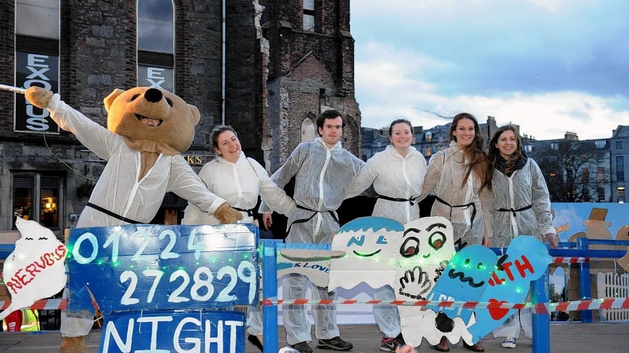 The Aberdeen Torcher parade 2015