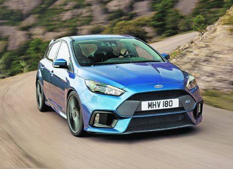 Ford's powerful new Focus RS