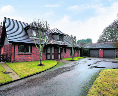 Number seven Riverside, at Blackhall by Banchory