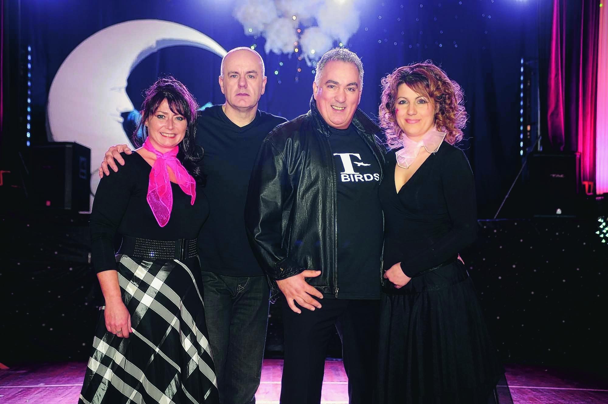 Sharon Taylor, Dougie McPhee, Findlay Sinclair and Vasia Hristova