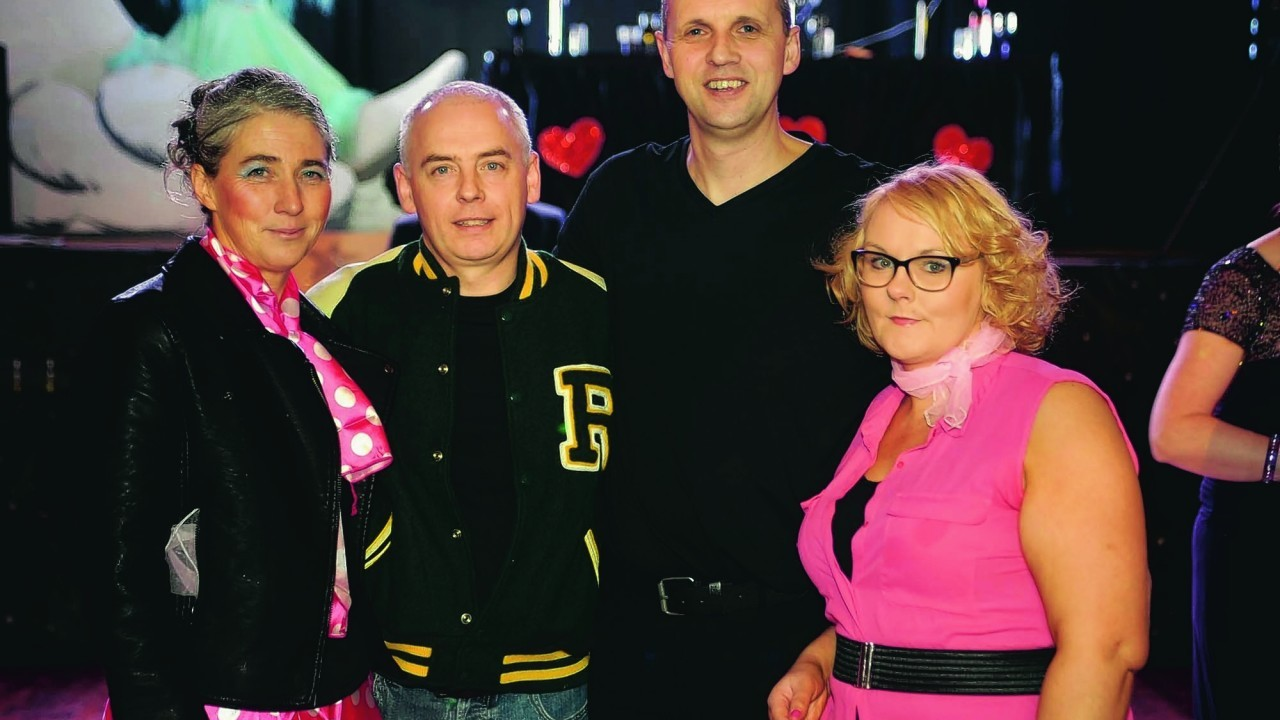 Di Richardson, Ian Muelle,  Kevin Smith and Audrey Macaulay