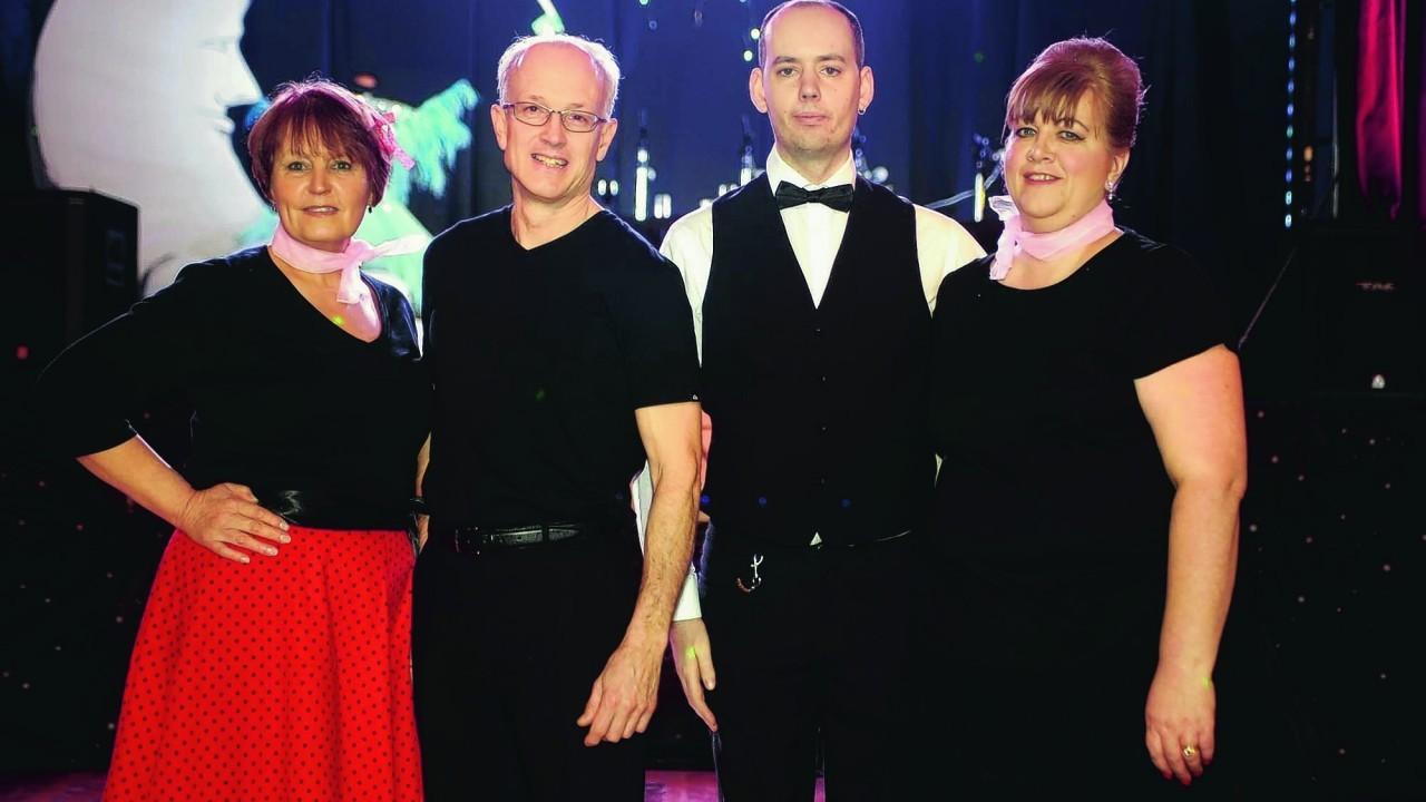 Georgie Black, David Williams, Billy Martin, Louise Nicol