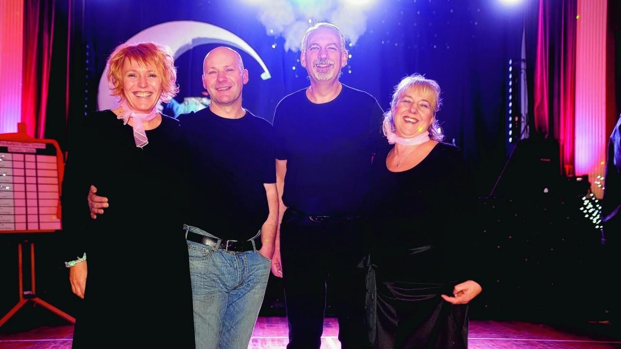 Juli Harris, Stephen Scott, Neil Brawm and Denise Brown