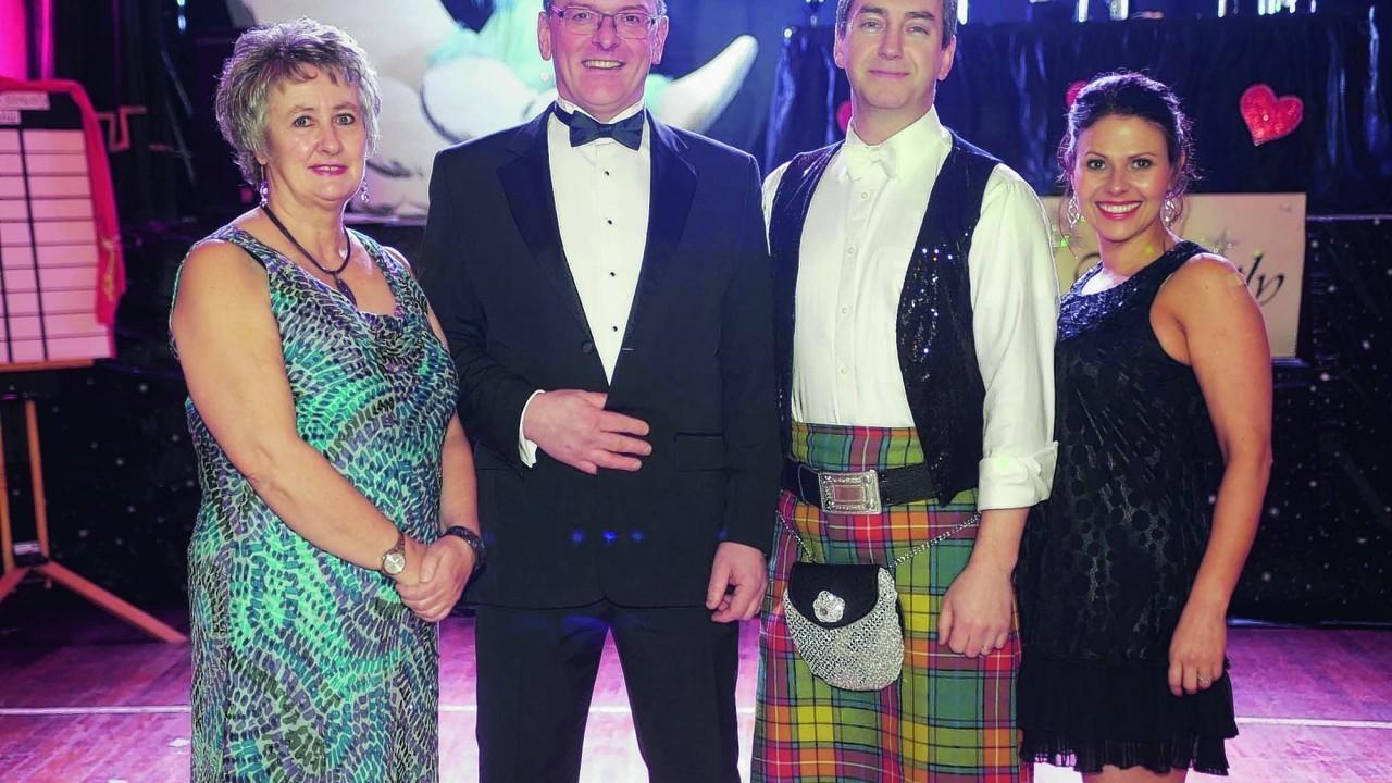Linda Stuart, Kevin Black, Ken Mathews and Renee Lindsay