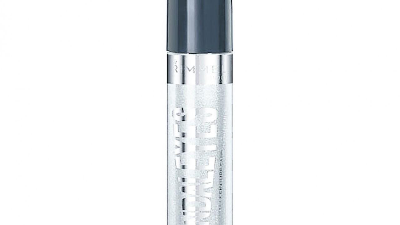 Rimmel Scandaleyes Eyeshadow Paint in Mercury Silver