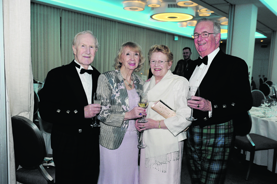 Victor and Freda Michie with Nancy and Alex Urquhart