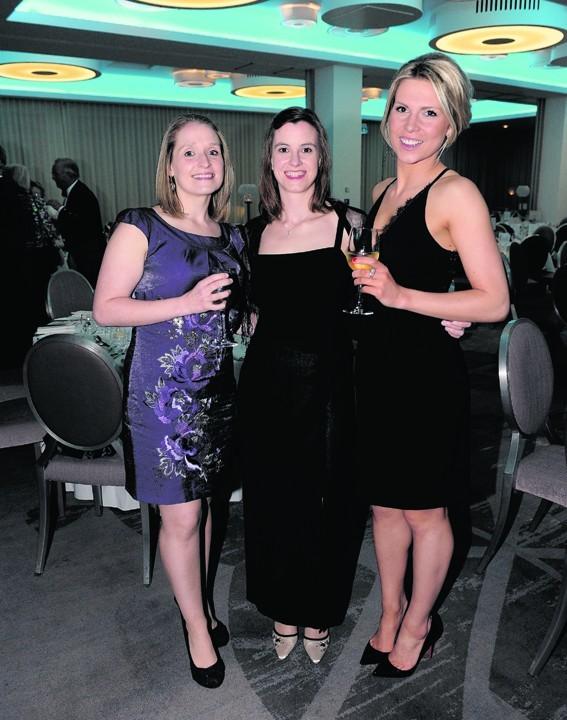 Lisa Greenwell, Donna Ellis and Hannah Taylor