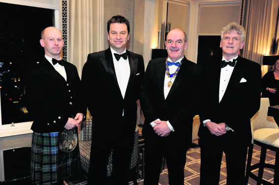 Simon Mills, Graeme Halkerston, Mike Fraser and Robin Whyte