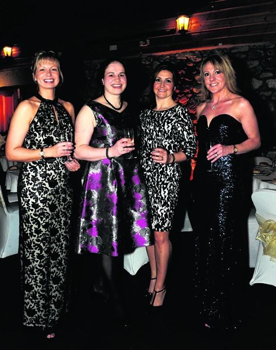 Joyce Dalgarno, Laura Philip, Carol Thomson and Carol Wilson