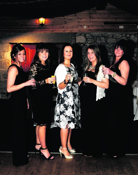 Nikki Campbell, Jane Esslemont, Victoria Wood, Rebecca Smith and Jacqueline Lacey