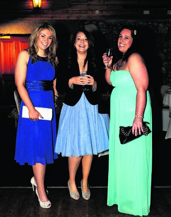 Cheryl Smith, Debbie Smith and Cheryl Forbes