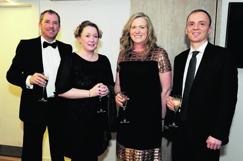 Andy Powell, Sarah Still, Trish Murray and Martin Shaw