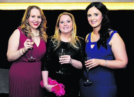 Emma Hunter, Cassie Connell and Laura Ross