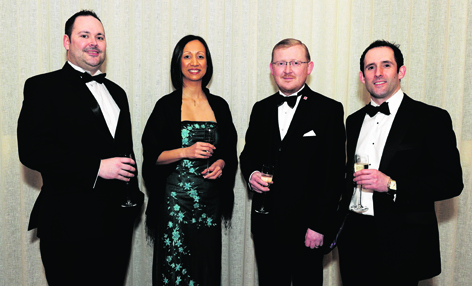 Michael McDermott, Tina Burgoyne, Damian Wyatt and Shaun Windram