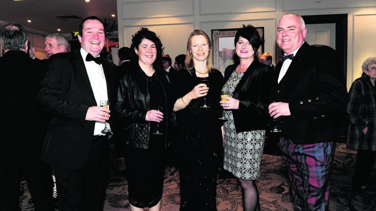Alan Stewart, Fiona Forrest, Rachel Gambro, Kim Adams and Scott Kelman