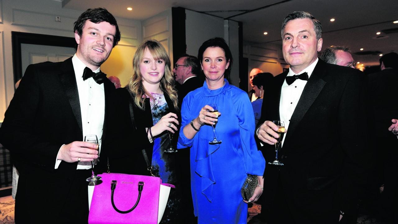 Joshua, Jessica, Anita and Andrew Stirling