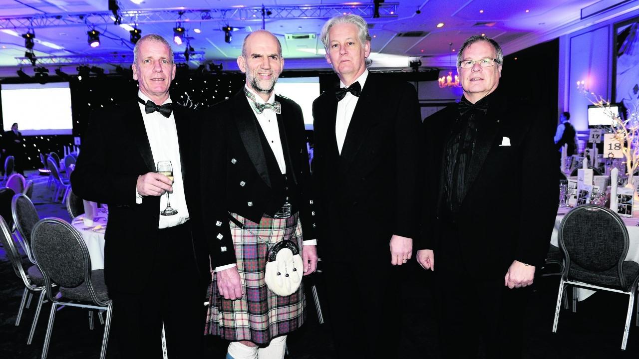 Alan Downie, Derek McDonald, Peter Argyle and John Cox