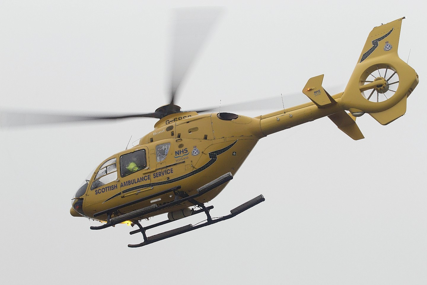 The man was taken to ARI by air ambulance