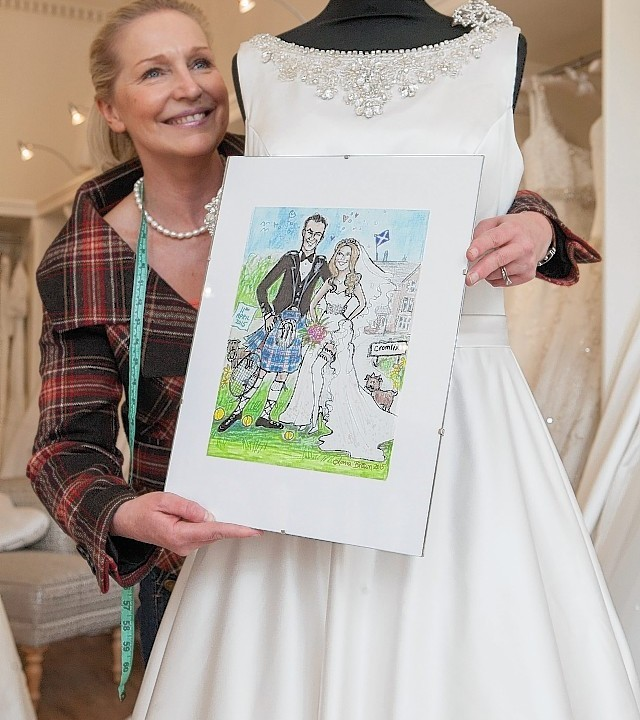 Dunblane gets set for its very own sporting royalty wedding