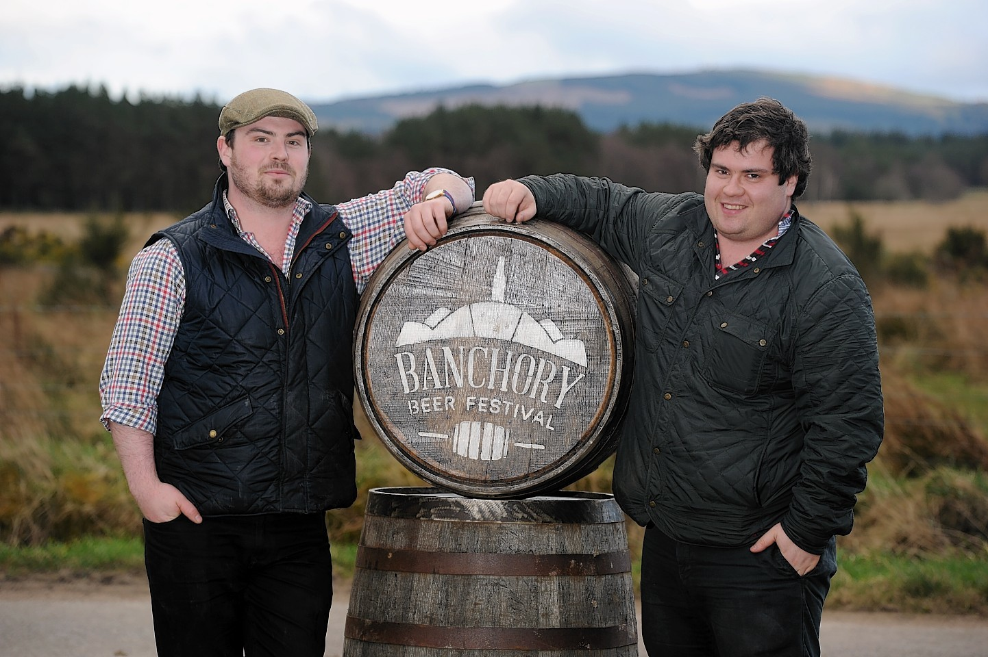 Guy and Mungo Finlayson will run the first ever Inverurie Beer Festival this Autumn following the success of the Banchory Beer Festival. Credit: Kenny Elrick.