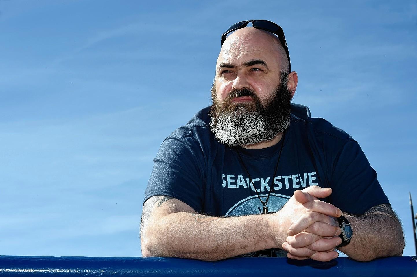 Shaun's dad, Charlie Reid