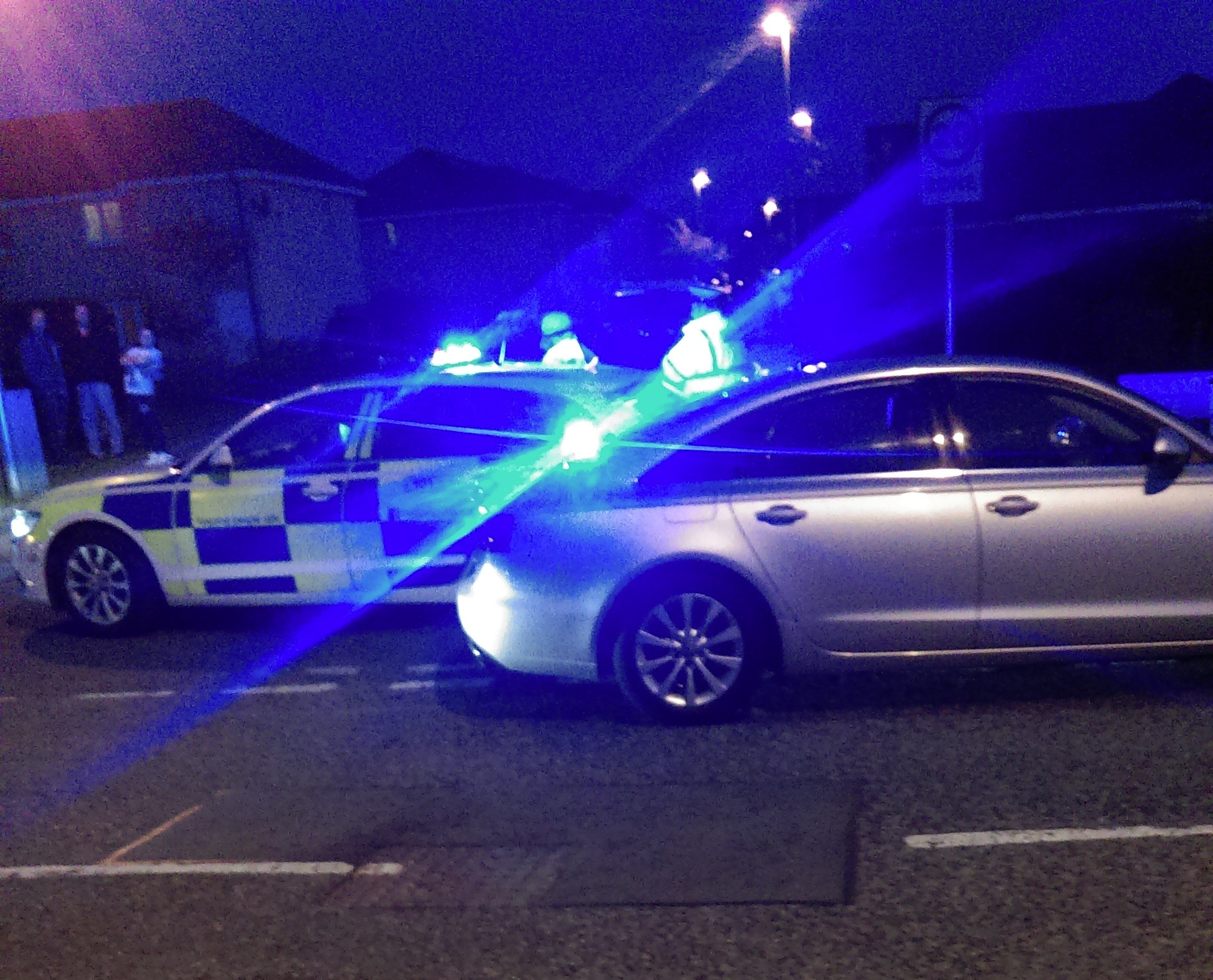 The crash in Elrick took place shortly after 7pm on Thursday