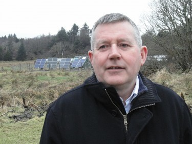 Western Isles Council leader Angus Campbell