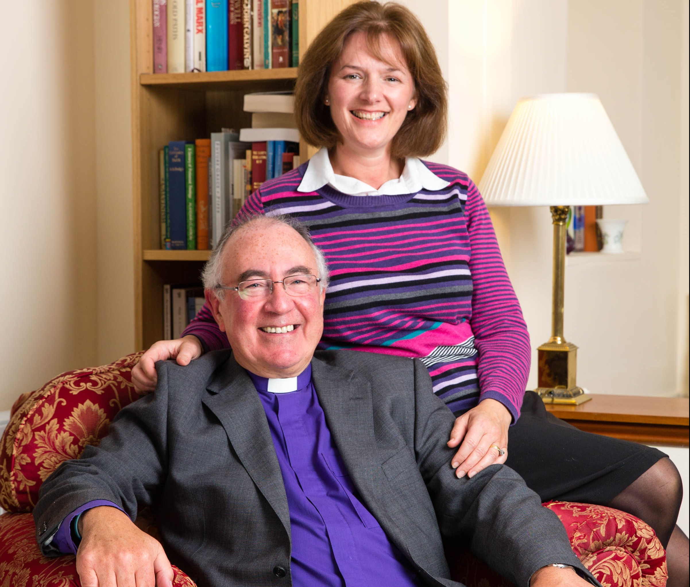 The Rev Angus Morrison and his wife Marion.