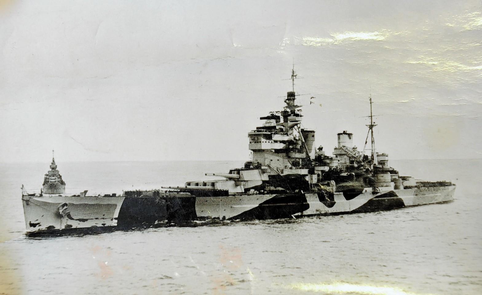 The HMS Anson