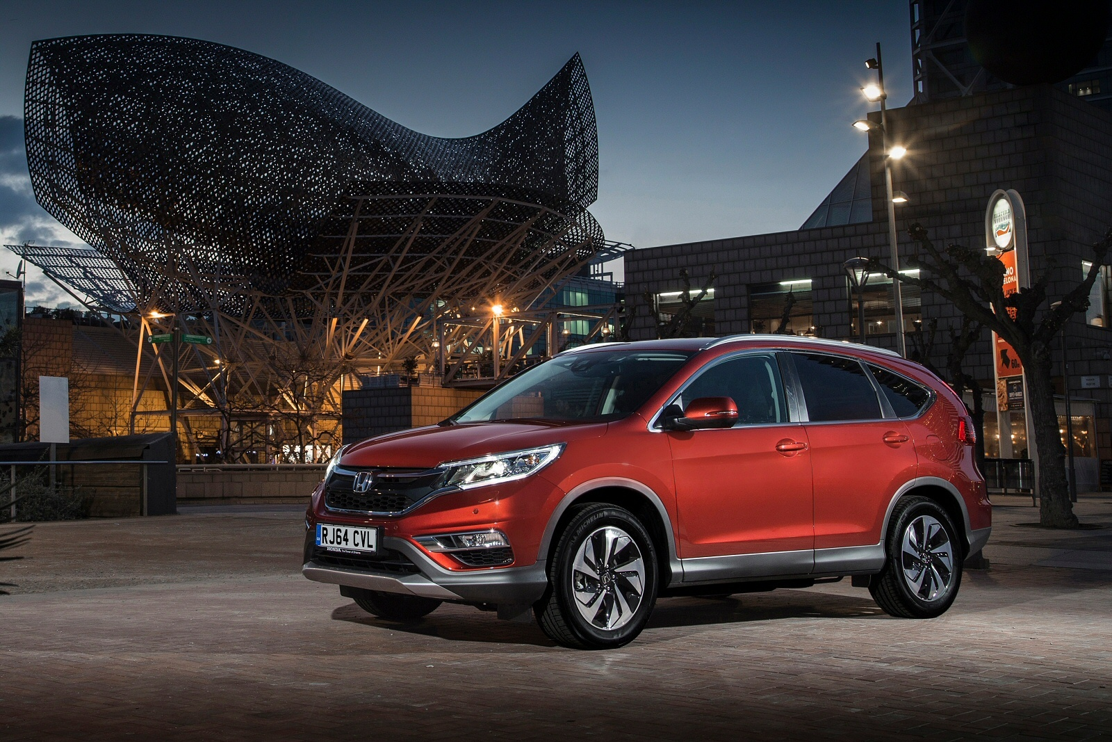 Diamonds come in small packages like this honda cr v for Honda crv packages