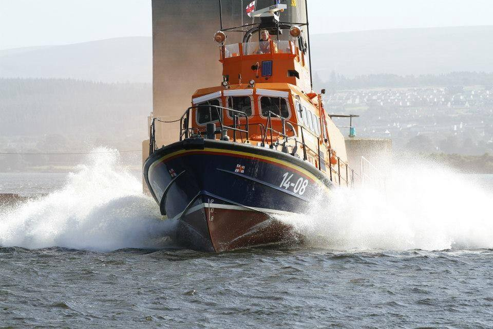 The Invergordon lifeboat was called to the incident.