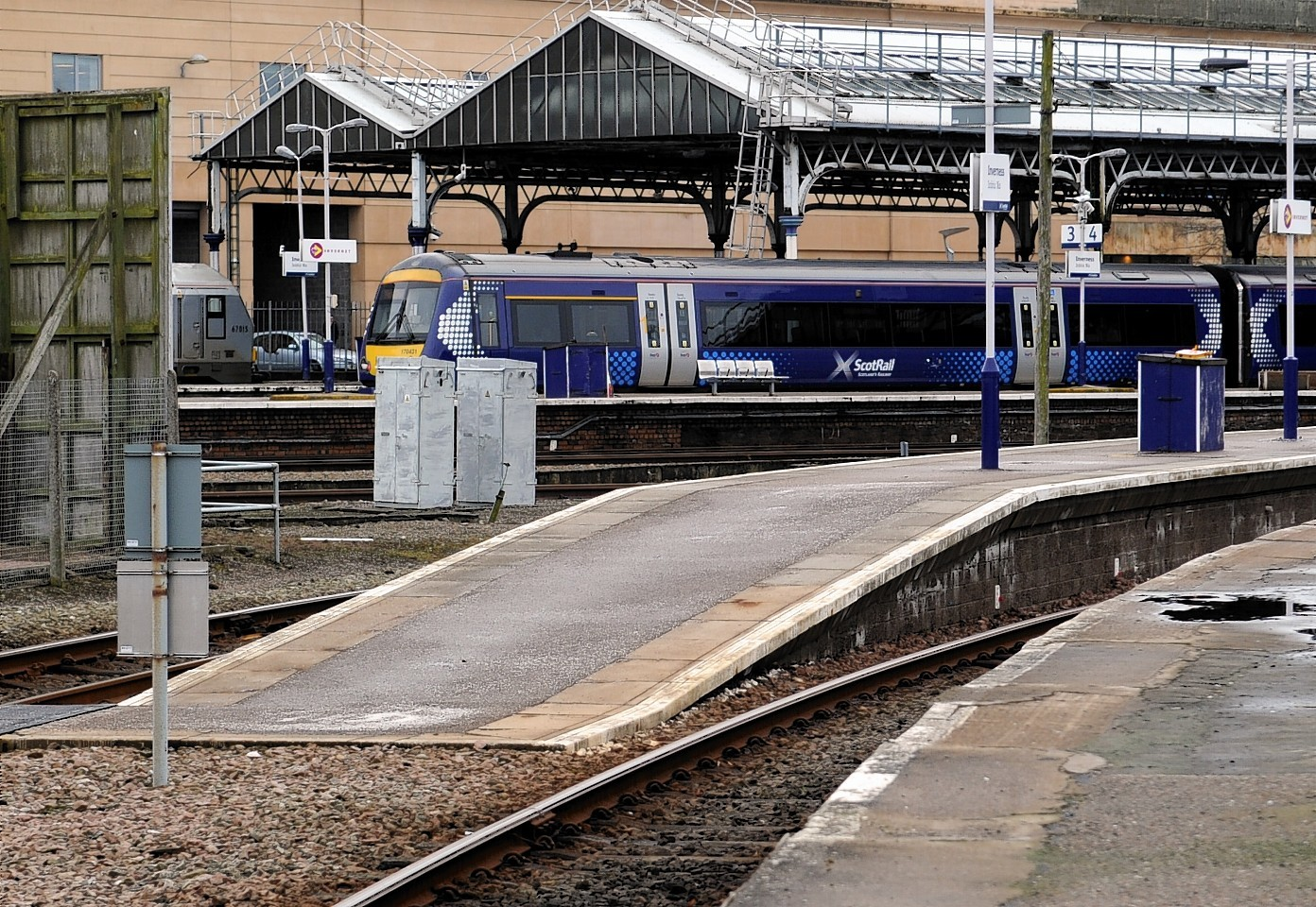 Inverness train station