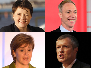 Our Holyrood correspondent has rated the performances of each of the leaders this evening