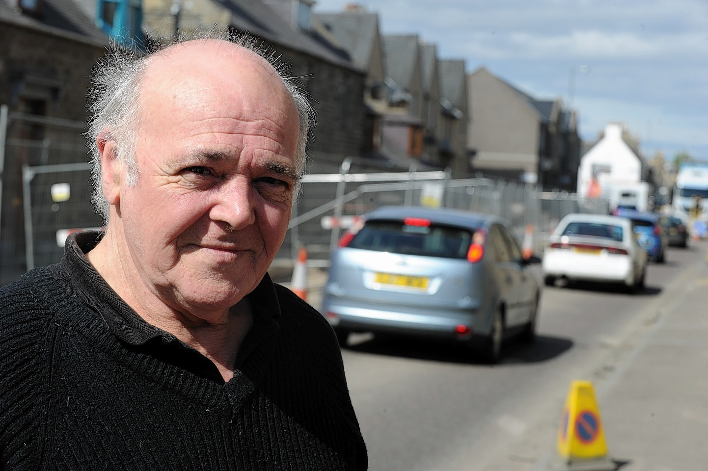 Keith residents welcome efforts of scottish water press for Mossy motors on broad street