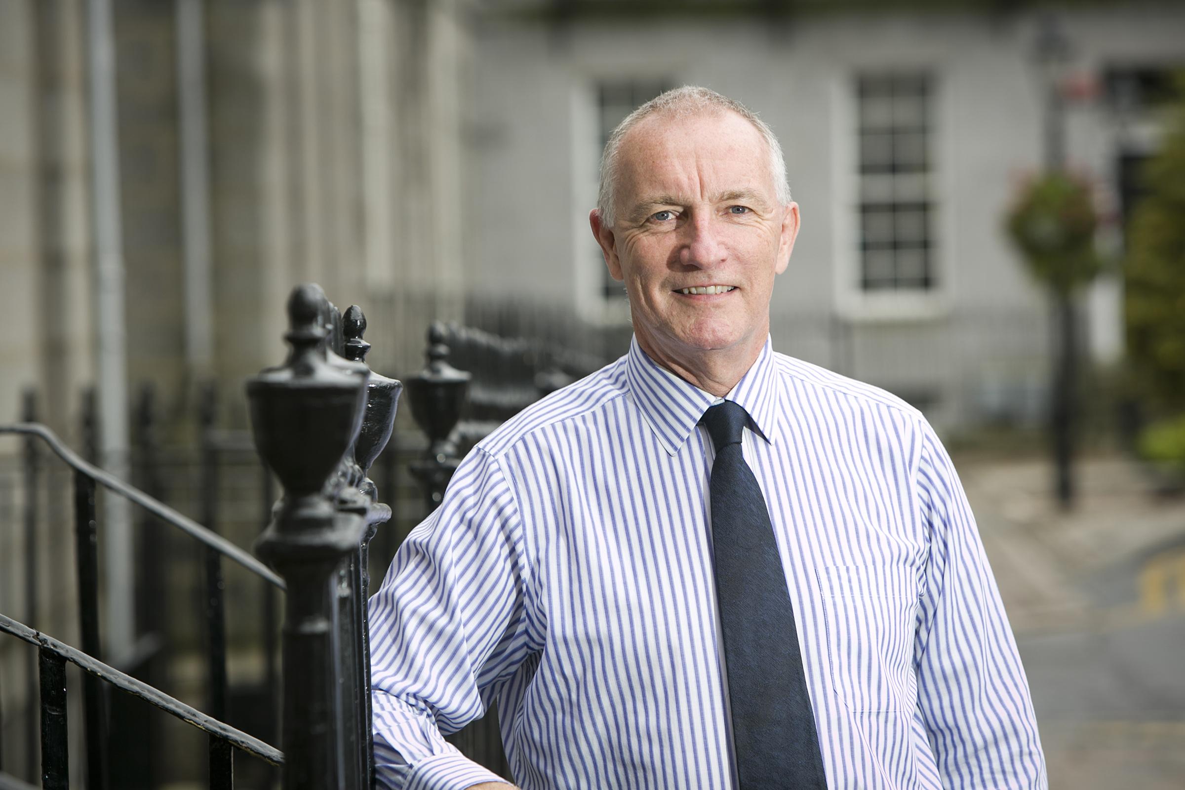 Mark Clarke, Chairman, Frontier International