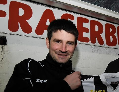 Broch manager Mark Cowie