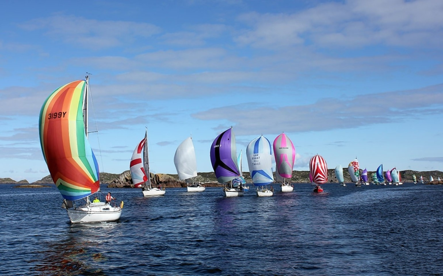 Sailing clubs across the country will take part.