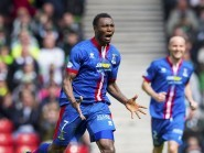 Edward Ofere will be leaving Caley Thistle