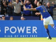 Leonardo Ulloa scored in Leicester's win
